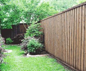 fence staining, custom fence staining