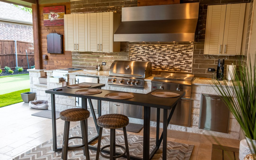 The Chef's Outdoor Kitchen
